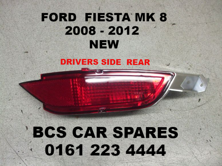 Ford Fiesta Fog Light Glass