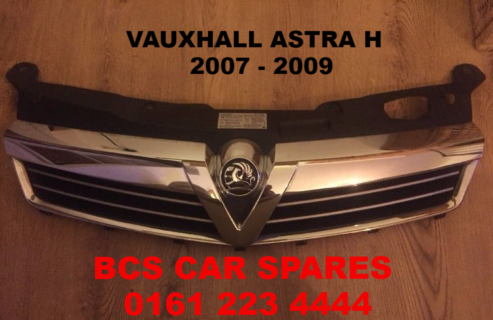 Vauxhall Astra H Mk 5 Front Facelift Chrome Grill 2007