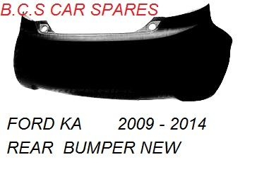 Ford Ka Rear Bumper    Insurance Approved In Primer