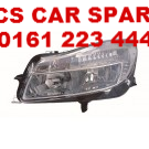 VAUXHALL INSIGNIA HEADLIGHT  PASSENGER SIDE  N/S  NEW  2009 - 2010 - 2011 - 2012 (1)